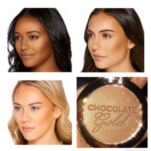 Too Faced Makeup - Chocolate Gold Gilded Bronzer